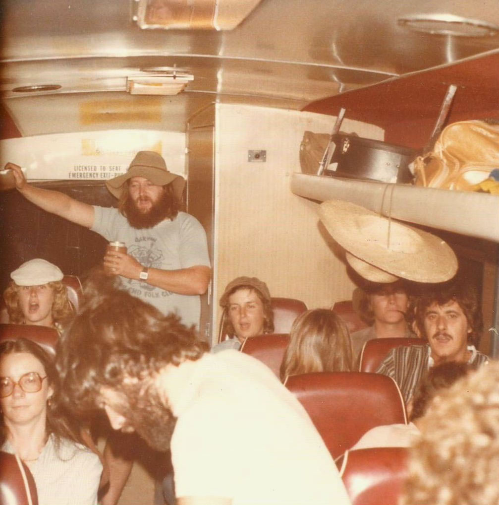 On the bus to Tennant Creek (Photo: TEFC Archive)